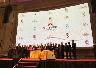 Al-Ambia 35th Anniversary Dinner + Chairman Sze To Farewell