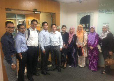 JKR QS Division visit to PKT office