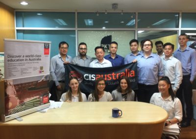 Swinburne University's visit to PKT