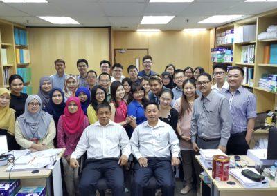 Tan Sri Lim Kim Hong visit to PKT office