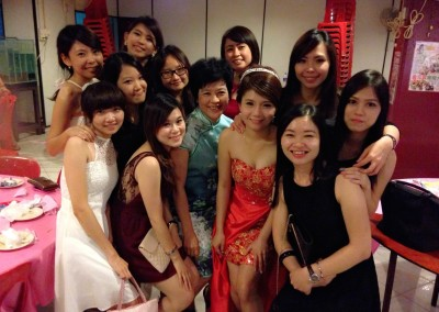 Staff wedding celebration