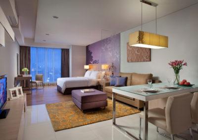 4-star Ascott Hotel, BBCC