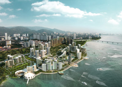 Tropicana Bay Residences, Penang World City for Tropicana Ivory