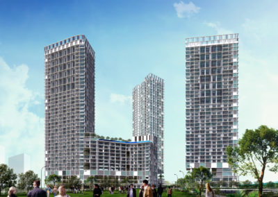 i-City - Hyde, Parisien and Liberty Towers, Shah Alam for i-Berhad